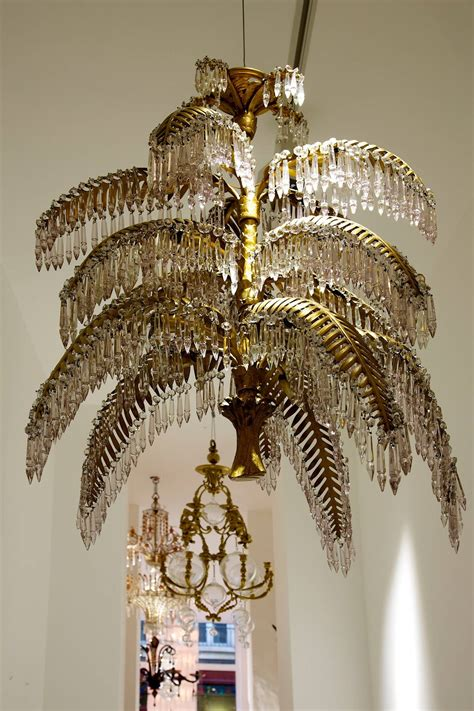 Palm Tree Chandeliers Joseph Hoffmann And Bakalowitz Palm Tree Chandelier For