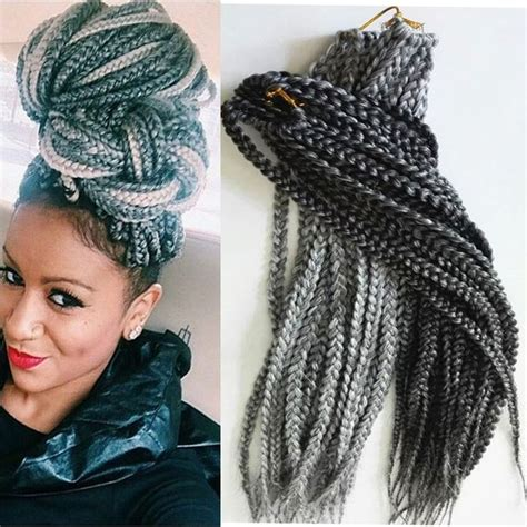 grey braiding extensions 77 best box braids hair images on pinterest braid hair