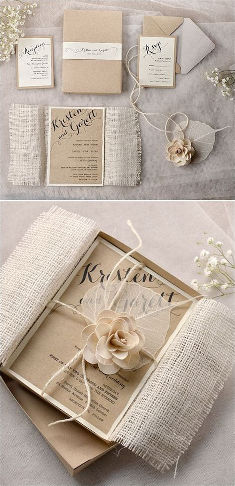 shabby chic wedding invitations stationery by for love