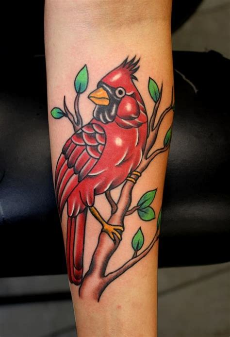 cardinal rose tattoo cardinal tattoos designs ideas and meaning tattoos for you