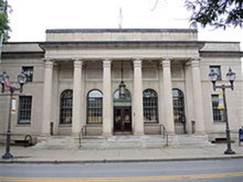 Oneonta Post Office by Oneonta New York