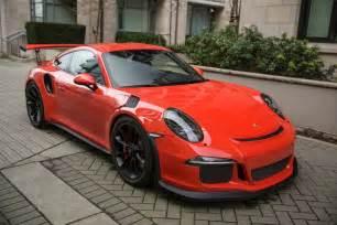 Porsche Gt3 Rs Price 2016 Porsche 911 Gt3 Rs Vancouver Canada Jamesedition