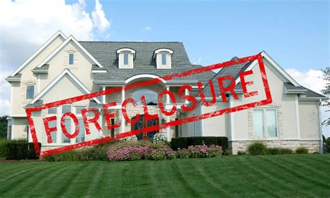 big houses are hitting the market due to foreclosure