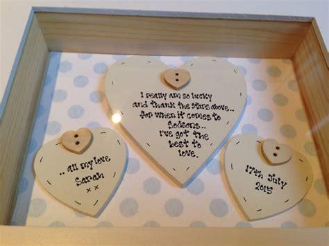 gifts uk shabby personalised chic box frame gift godson baby boy