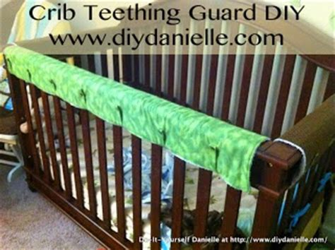 How To Make Crib Teething Guard how to sew a crib teething guard diy danielle