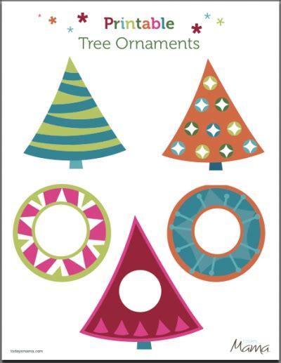 free printable christmas tree ornaments 21 ornaments to make tip junkie