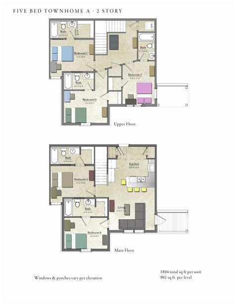 house design plans pdf 5 bedroom house plan pdf