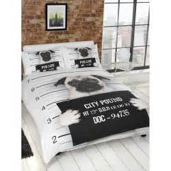 bed sheets and duvets b m pug duvet set 299508 b m