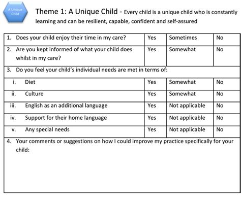 child friendly questionnaire template using questionnaires to improve your setting the
