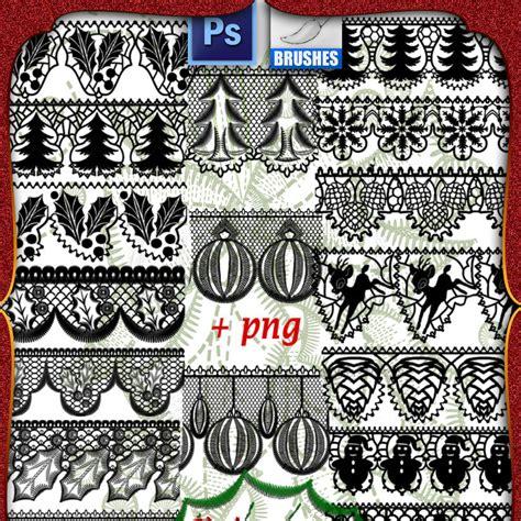 christmas pattern brushes photoshop christmas lace photoshop brushes photoshop brushes