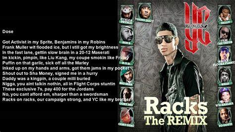 Racks Remix by Racks Remix Yc Feat Various Artists Bass