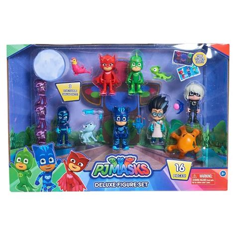 pj masks figures pj masks deluxe figure set target