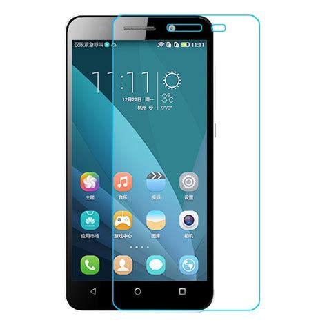 Huawei Honor 4x Anti Tempered Temper Real Glass Anti Gores Kaca 904325 huawei honor play 4x tempered glass screen protector 7983 9 99 smartphone