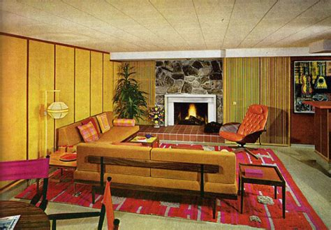 1970s home interiors back when interior design had it