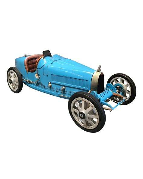 vintage bugatti race car bugatti type 35 race car scale model circa 1950