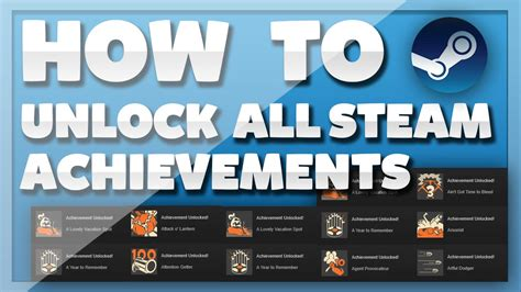 how to unlock quot all quot steam achievements for free working