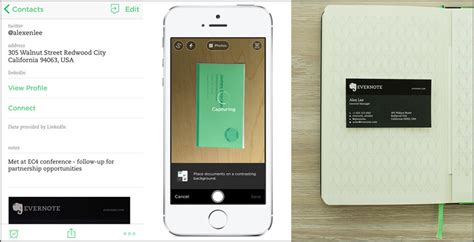 evernote templates for android evernote scan business cards android gallery card design
