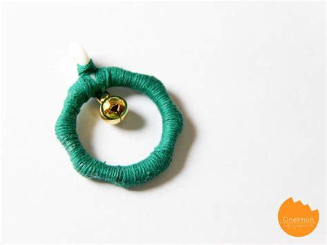 Ring Lonceng diy tutorial wreath pendant onelmon