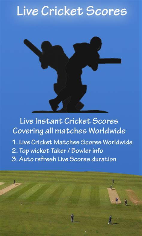 Live Cricket Scores Cricket Scorecard And Match Predictions | live cricket scores worldwide android apps on google play