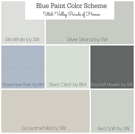 benjamin color palettes best neutral paint color palettes for your entire house