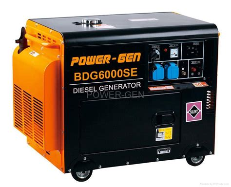 diesel generator set bdg6000se power china