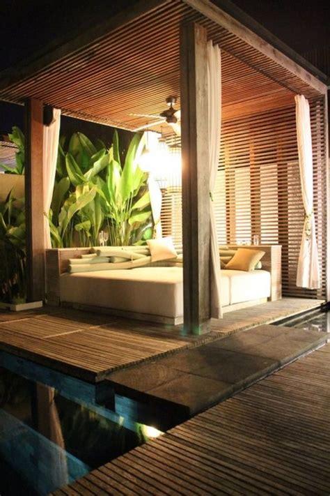 cabana style bedroom cabana pergola seating areas pools spas ponds water