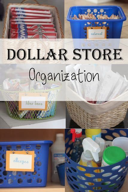 dollar store organizing ideas dollar store organization ideas home sweet home pinterest