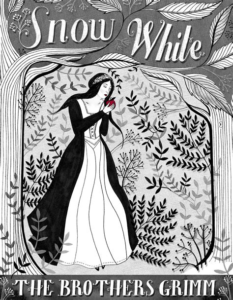 Lindsey Spinks - Snow White, Monochrome & Full colour Book
