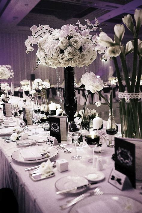 White Themed Events | 53 best images about event theme black white on