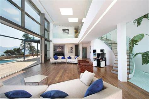 bedroom at luxury waterfront apartment interior design modern waterfront villa in mallorca idesignarch