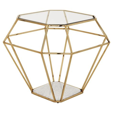 what does table in diamonds eichholtz adler gold frame shape glass