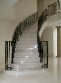Marble Stairs Design Marble Staircase With Balustrade And Stainless Steel Rails Stairs Marble