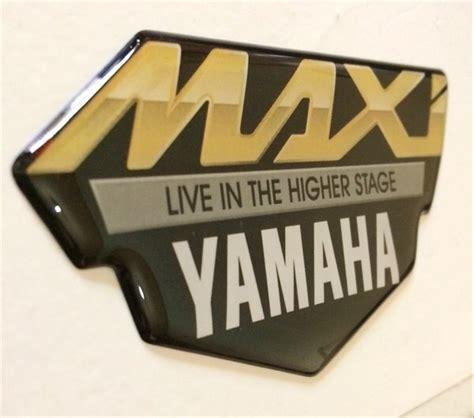 jual stiker emblem yamaha maxi nmax xmax aerox tmax resin