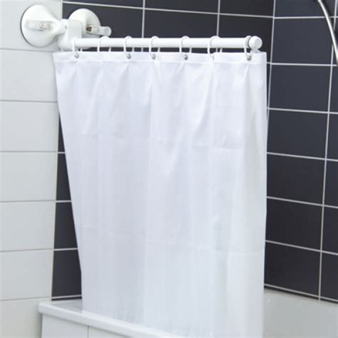 shower curtains with suction cups suction cup shower curtain arm