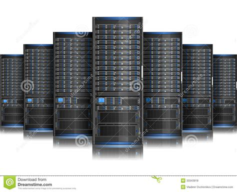 server royalty  stock  image