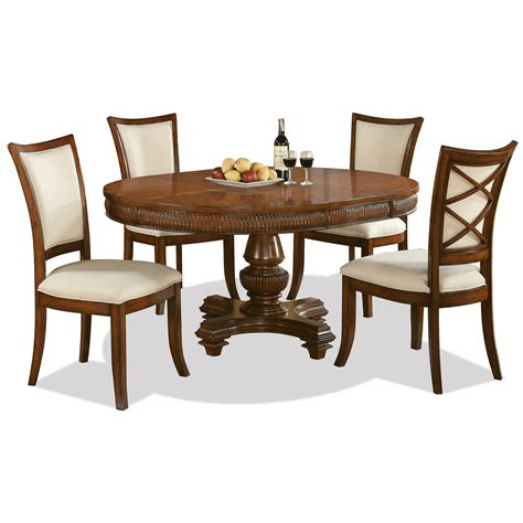 riverside dining room furniture riverside furniture windward bay 5 piece round table and