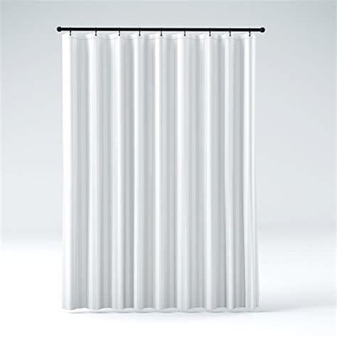 mildew resistant washable polyester fabric shower curtain