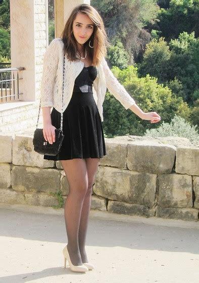 in high heels and dresses lace beige cropped jacket topshop black dress aldo
