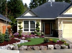 simple low cost front yard landscaping ideas home design backyard easy cheap homelk com