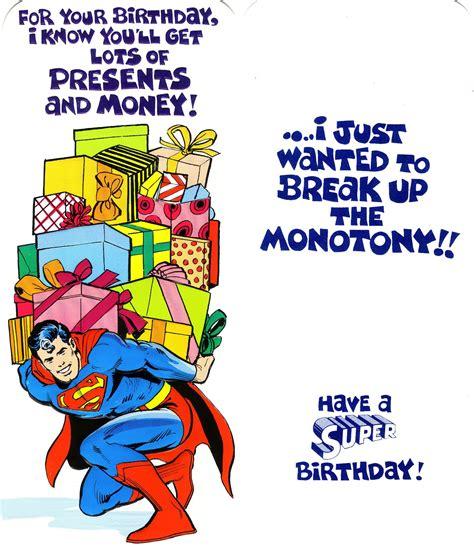 printable birthday cards superman superman homepage