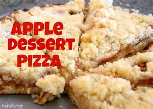 michelle paige blogs easy apple dessert pizza