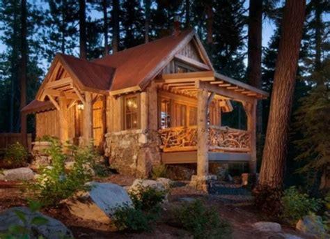 beautiful design  log cabin tiny house