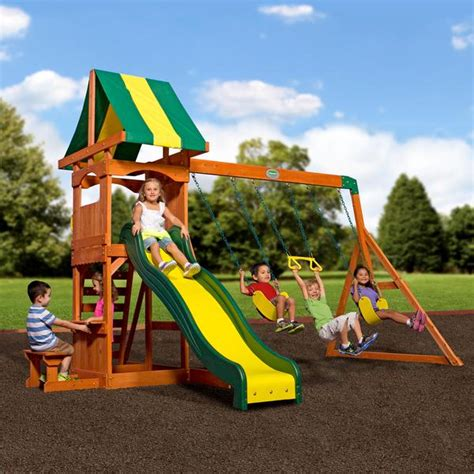 weston backyard discovery weston wooden swing set playsets backyard discovery