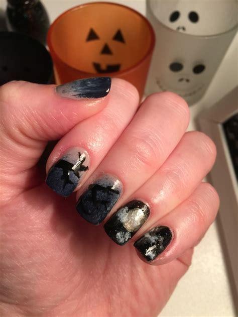 ongle gel noir ongles noir