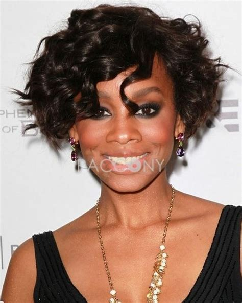 wigs for round face african american chic cute african american hairstyle short wavy lace wig