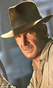 Harrison Buffs Up For Indy by Harrison Ford Looks Every Bit The As He Goes