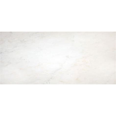 ms international greecian white 12 in x 24 in polished marble floor and wall tile 10 sq ft