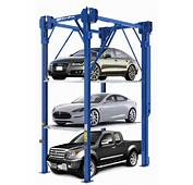 NEW BendPak PL 14000 4 Post Triple Car Vehicle Automotive