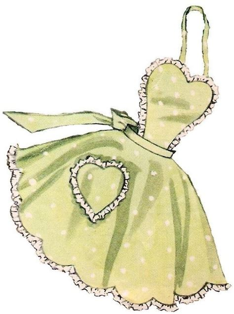 pattern apron vintage vintage full apron pattern 50s on pdf no 16 now by