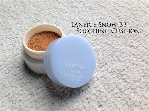Laneige Snow Bb Cushion laneige snow bb soothing cushion silverkis world